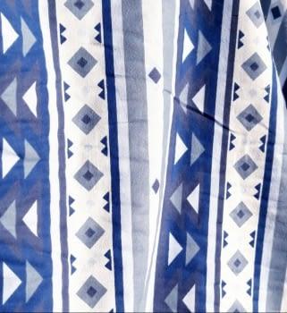 Tela franela azul 150