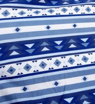 Tela franela azul 150 - 3