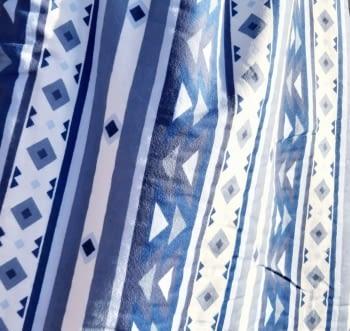 Tela franela azul 150 - 5