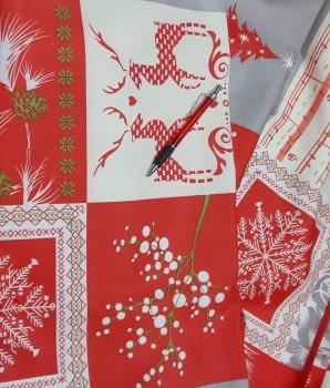 Mantel Navidad antimanchas