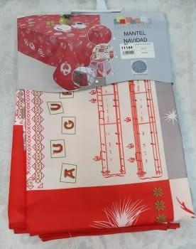 Mantel Navidad antimanchas - 3