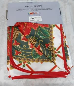 Mantel Navidad antimanchas 2 - 3