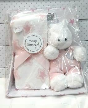 Peluche Unicornio manta rosa