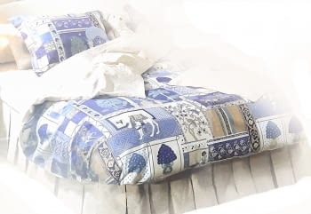 Funda nórdica India cama 150 - 2