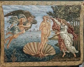 Tapiz pared Nacimiento de Venus Botticelli