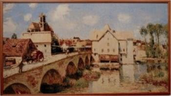 Tapiz de pared Borgo sul fiume
