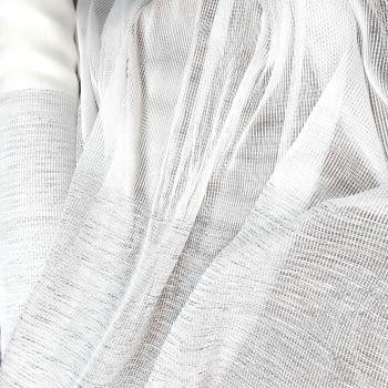 Tela visillo malla gris