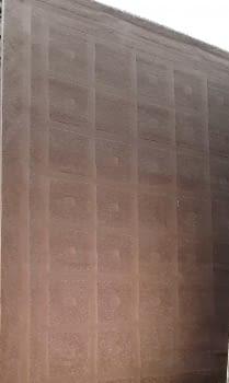 Alfombra marrón 160 x 230