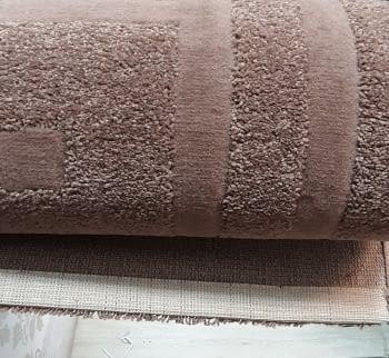 Alfombra marrón 160 x 230 - 5