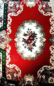 Alfombra roja rosetón