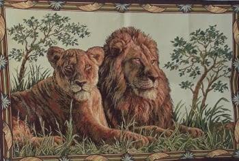 Tapiz de pared Leoni 70 x 110