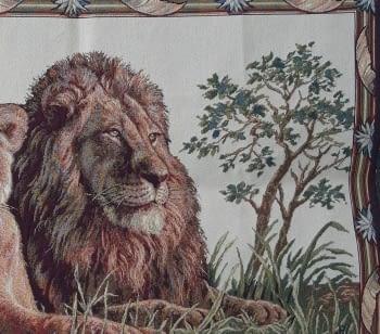 Tapiz de pared Leoni 70 x 110 - 3