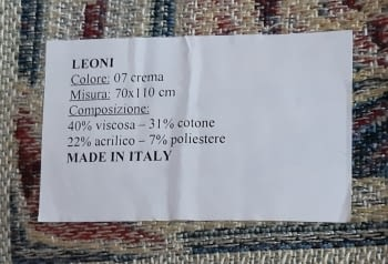 Tapiz de pared Leoni 70 x 110 - 5
