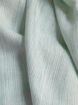 Tela lino verde agua 115 x 170 = 8,90 €