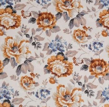 Tela flores Verdi Santa Amalia - 2