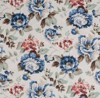 Tela flores Verdi Santa Amalia - 3
