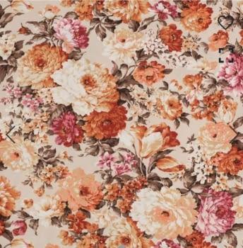 Telas flores Tricia