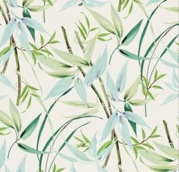 Tela resinada Bambú