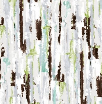 Tela loneta abstracta verde