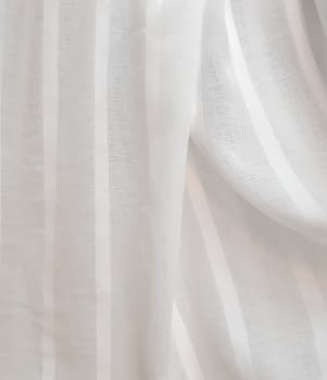 Tela visillo rayas textura lino