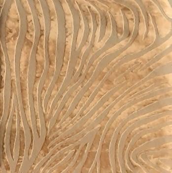 Tela lino cebra oro - 2
