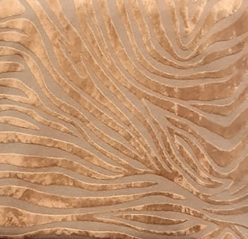 Tela lino cebra oro - 3