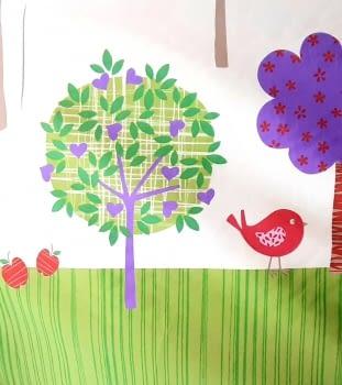 Tela infantil árboles 280 - 2