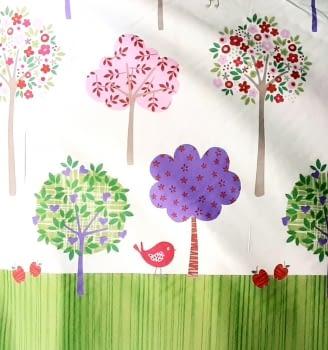 Tela infantil árboles 280 - 4
