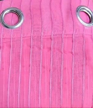 Visillos confeccionados Marien fucsias