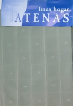 1 Cortina verde presillas + Abrazadera - 2