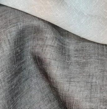 Tela visillo gris oscuro C2