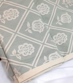 Colcha reversible piqué verde cama 135