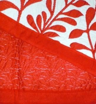 Colcha Kent rojo cama 135 - 5