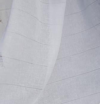 Tela visillo vainicas blanco