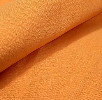 Tela otomán naranja vivo