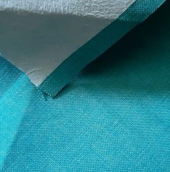 Tela exterior impermeable turquesa - 1