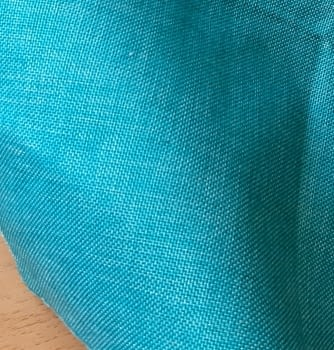 Tela exterior impermeable turquesa - 2