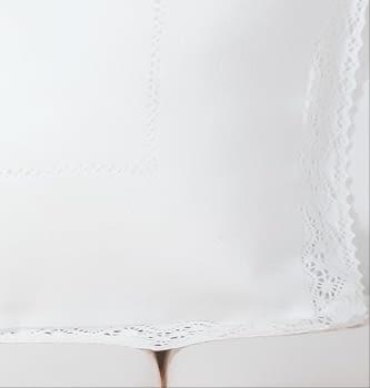 Fundas de cojín blancas 50 x 70 - 1