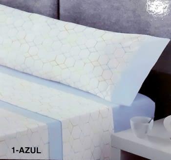 Juego de sábanas con hexágonos - 1