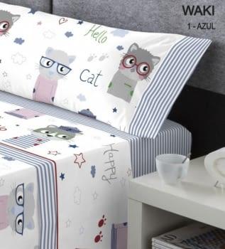 Juego sábanas infantil Cat