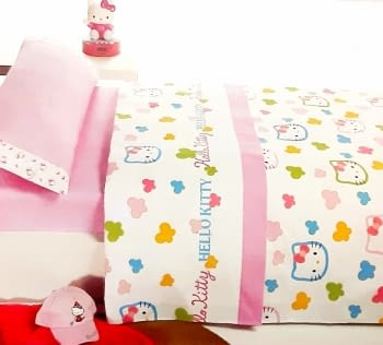 Juego sábanas Hello Kitty