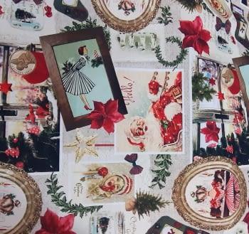 Tela Navidad original 280 - 1