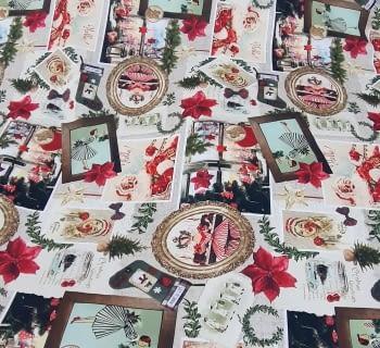 Tela Navidad original 280 - 3