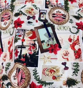 Tela Navidad original 280 - 4