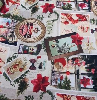 Tela Navidad original 280 - 5
