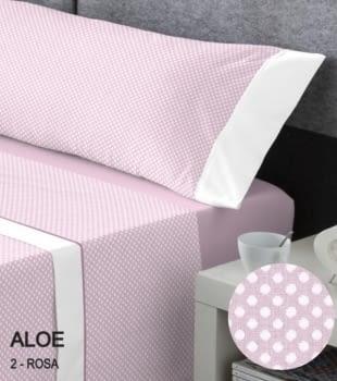 Juegos sábanas topos rosas
