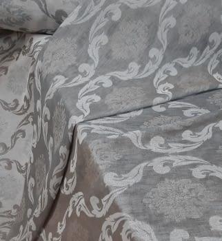 Tela visillo reversible gris italiano 300
