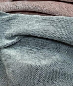 Tela terciopelo chenilla gris 280