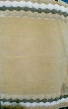 Alfombra chenilla beige