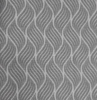 Tela loneta geometría gris 280